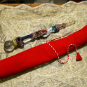 Indian healing stick with a crystal angel. Photo 2